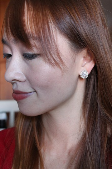 Ocean Fashion Gold Noble crystal spider earrings Image 3