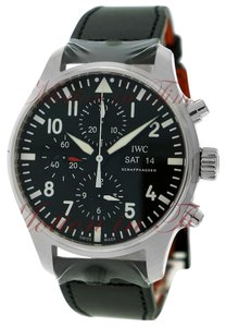 IWC IWC Pilot's Chronograph, Black Dial - Stainless Steel on Strap