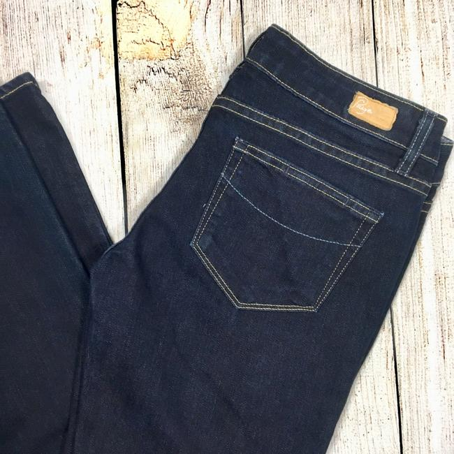 Paige Boot Cut Jeans-Dark Rinse Image 1