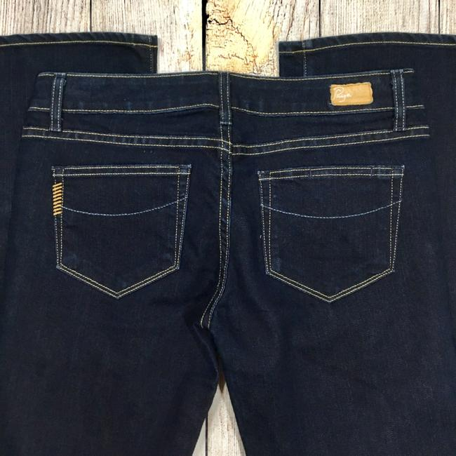 Paige Boot Cut Jeans-Dark Rinse Image 4