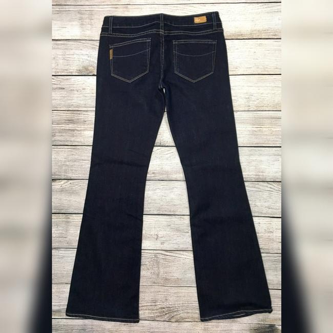 Paige Boot Cut Jeans-Dark Rinse Image 6