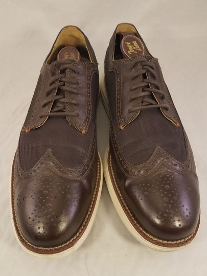 Cole Haan Brown Man Grandos Oxfords Wingtip Shoes Image 1