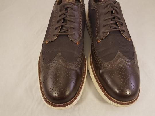 Cole Haan Brown Man Grandos Oxfords Wingtip Shoes Image 2