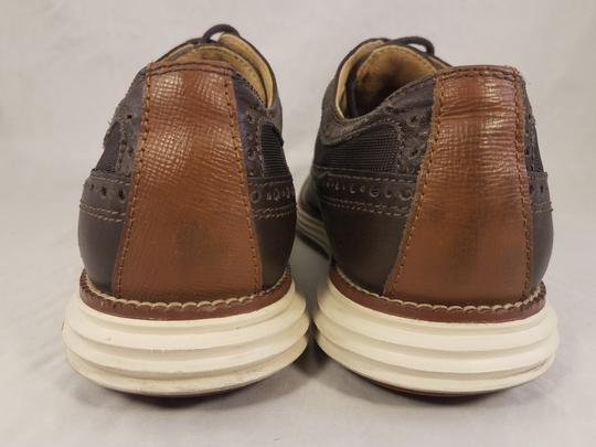 Cole Haan Brown Man Grandos Oxfords Wingtip Shoes Image 5