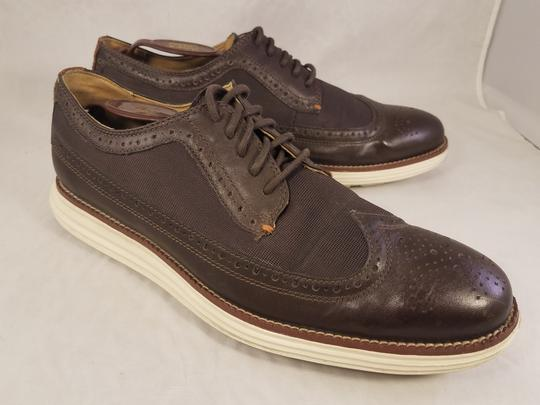 Cole Haan Brown Man Grandos Oxfords Wingtip Shoes Image 6