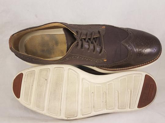 Cole Haan Brown Man Grandos Oxfords Wingtip Shoes Image 8