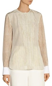 Maiyet Beach Travel Wear Casual Striped Top Sand