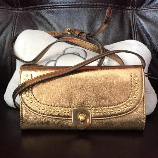 Cole Haan Leather Crossbody New With Gift Box Cross Body Bag Image 1