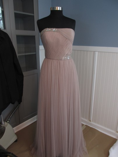 Montage Lt Mink Tulle 113914 (Hc-22) Formal Bridesmaid/Mob Dress Size 12 (L)