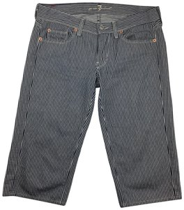 7 For All Mankind Bermuda Shorts Blue, White