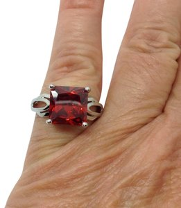 Other gemstone Sterling Silver over silver plated ring
