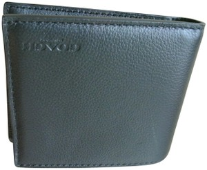 Coach Black Compact Id In Sport Calf Leather F74991 Wallet