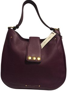 Marc by Marc Jacobs Satchel Studs Leather Hobo Bag