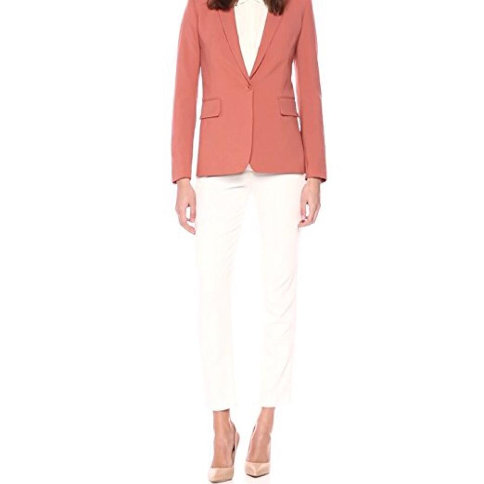 fd90c8a24b Theory Pink Russet Essential Stretch-wool Pant Suit Blazer Size 6 (S ...