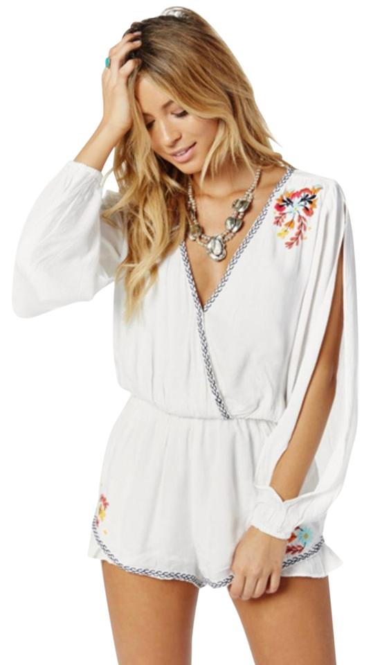 Cutout Friends Adriana 2 Embroidered Lovers Ruffle 0 Romper Jumpsuit vTxpdnq