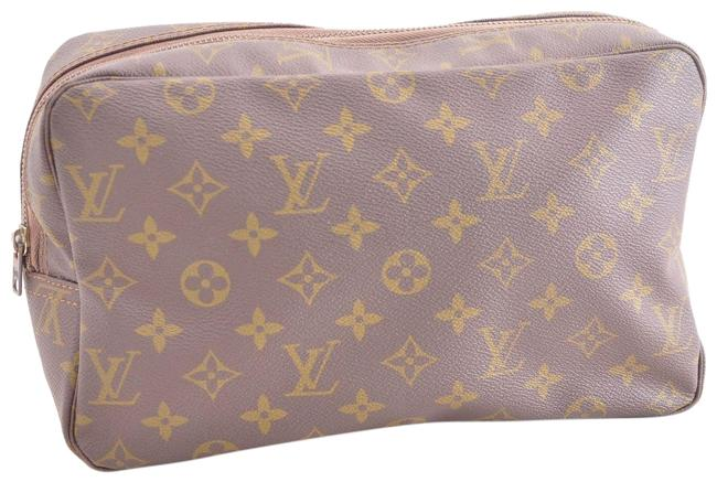 Louis Vuitton Trousse Clutch Monogram Toilette 28 M47524 Pouch Cosmetic Bag Louis Vuitton Trousse Clutch Monogram Toilette 28 M47524 Pouch Cosmetic Bag Image 1