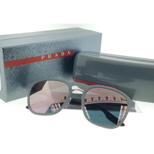 Prada Sports PS02SS-VHD5T0 Men's Grey Frame Grey Lens Genuine Sunglasses Image 5