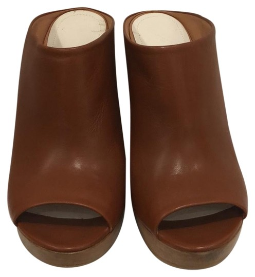 MM6 Maison Martin Margiela light brown Mules Image 1