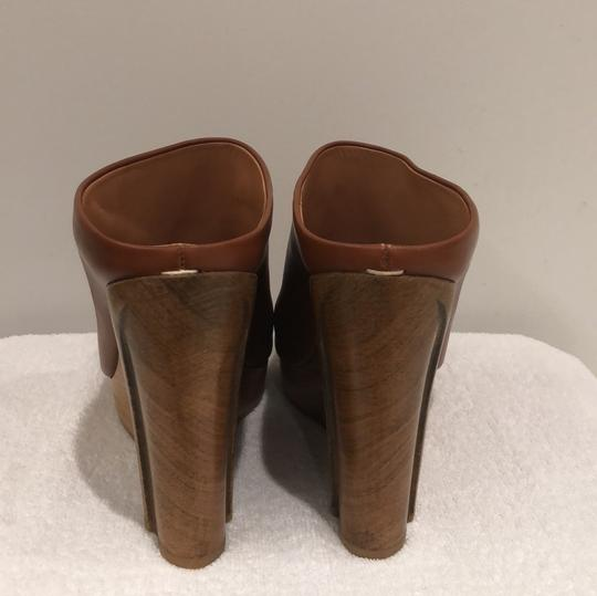 MM6 Maison Martin Margiela light brown Mules Image 2