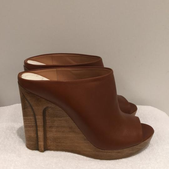 MM6 Maison Martin Margiela light brown Mules Image 3