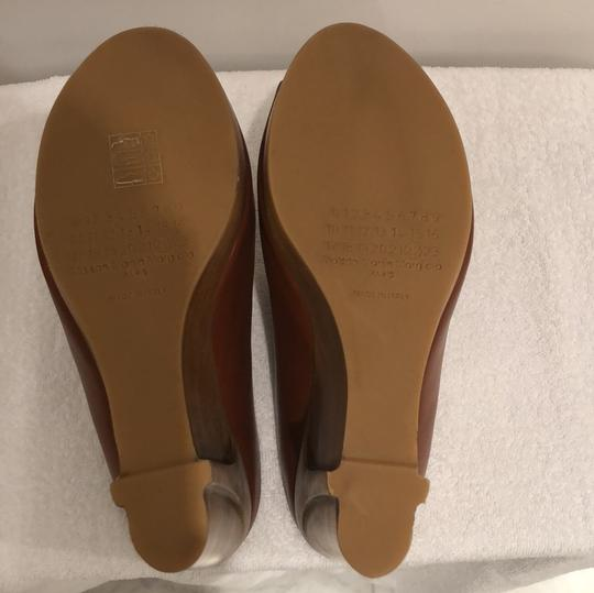 MM6 Maison Martin Margiela light brown Mules Image 5