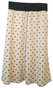 Marc Jacobs Skirt Ivory with black shiny dots