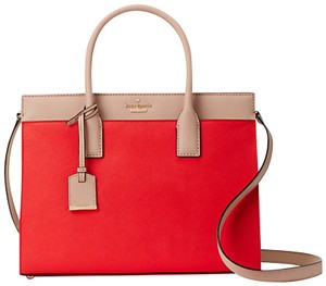Kate Spade Cameron Street Candace Satchel in Prickly Pear Multi