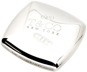 Tiffany & Co. Tiffany & Co. 1837 Square Compact Mirror in Sterling Silver
