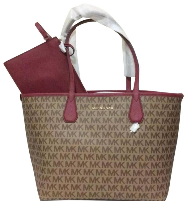 Item - Candy Beige and Ebony Monogram Canvas Tote