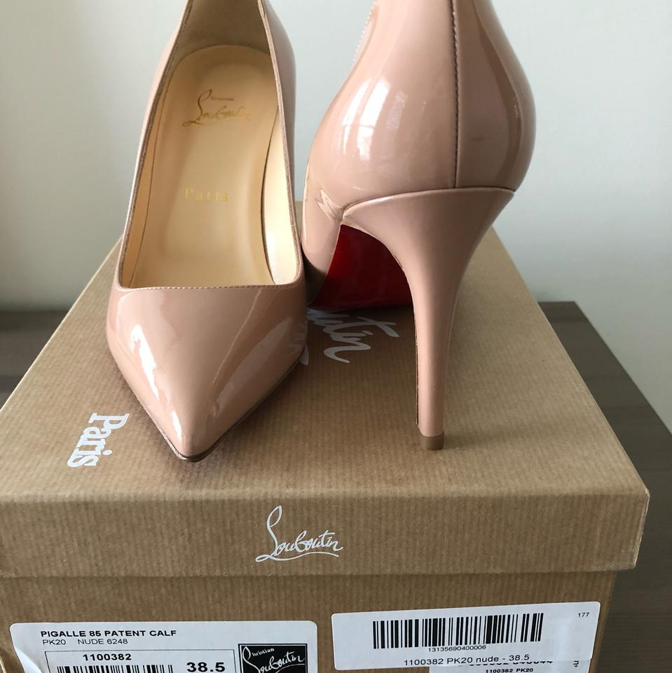 33385724c0 Christian Louboutin Nude Pigalle 85 Patent Pumps Size EU 38.5 (Approx. US  8.5) Regular (M, B) - Tradesy