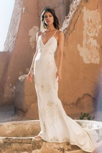 Spell & the Gypsy Collective Off White 95% Silk 5% Spandex Odette ...