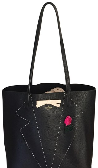 Preload https://img-static.tradesy.com/item/23075333/kate-spade-black-leather-tote-0-1-540-540.jpg