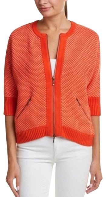 Item - Orange Cocoon Sold Out Sweater Full Zip S Cardigan Size 6 (S)