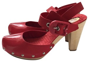 Dr. Scholl's Red Mules