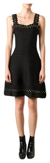 Preload https://item1.tradesy.com/images/herve-leger-black-faith-night-out-dress-size-12-l-2307580-0-0.jpg?width=400&height=650