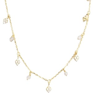 Tai TAI GOLD VERMIEL SIMPLE CHAIN CHOKER WITH CHARMS NWT