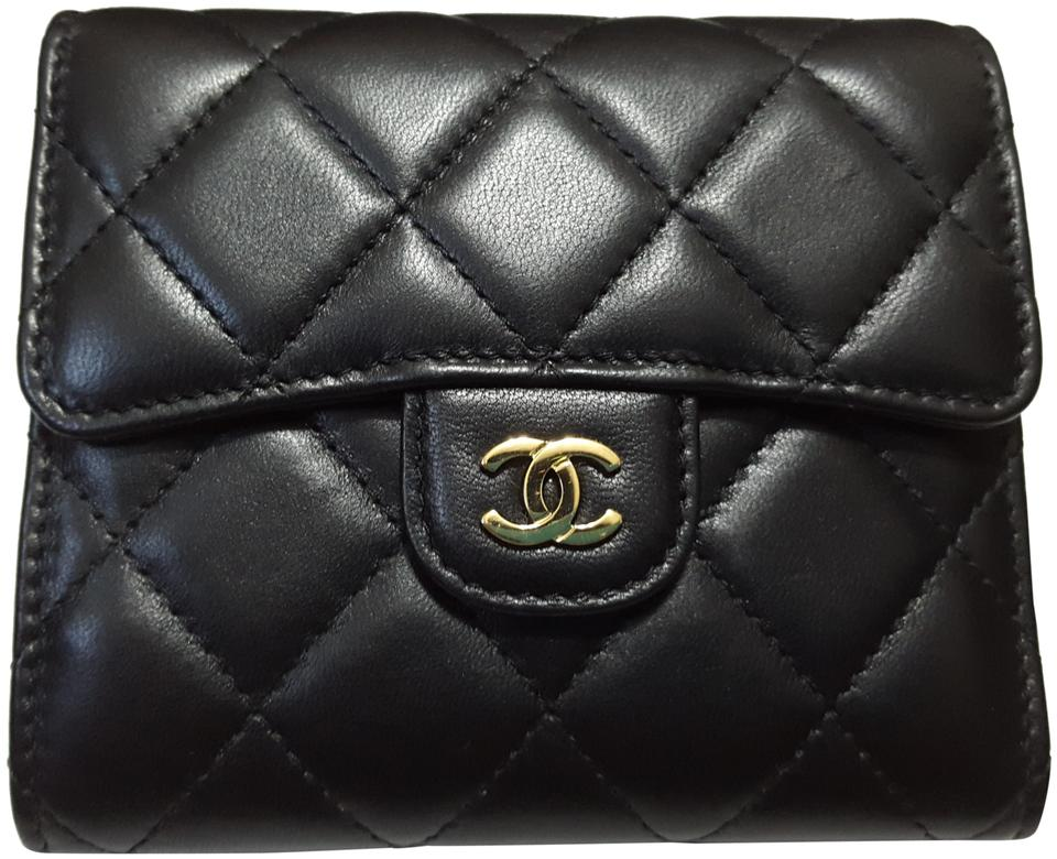 cd6b214e5e46 Chanel Small Flap Wallet Black | Stanford Center for Opportunity ...