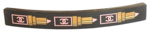 Chanel Chanel Hair Barrette Limited Edition Lipstick Collection Black Pink Go
