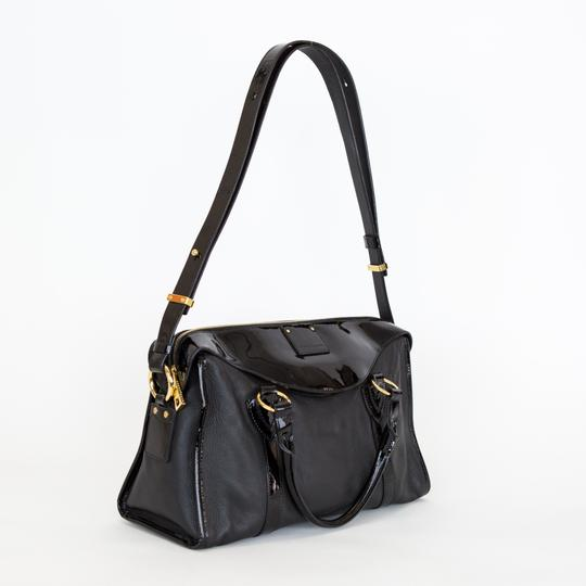 Marc Jacobs Leather Patent Leather Satchel in Black Image 1