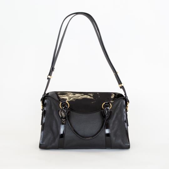 Marc Jacobs Leather Patent Leather Satchel in Black Image 2