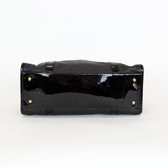Marc Jacobs Leather Patent Leather Satchel in Black Image 3