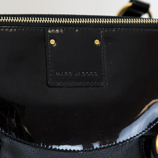 Marc Jacobs Leather Patent Leather Satchel in Black Image 4