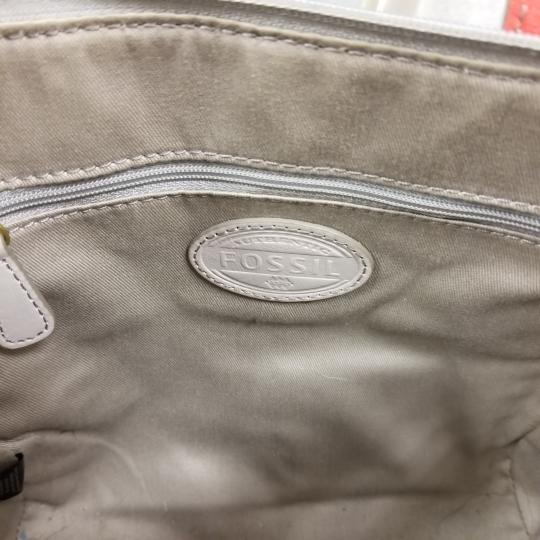 Fossil Satchel in Ivory/Coral Image 6