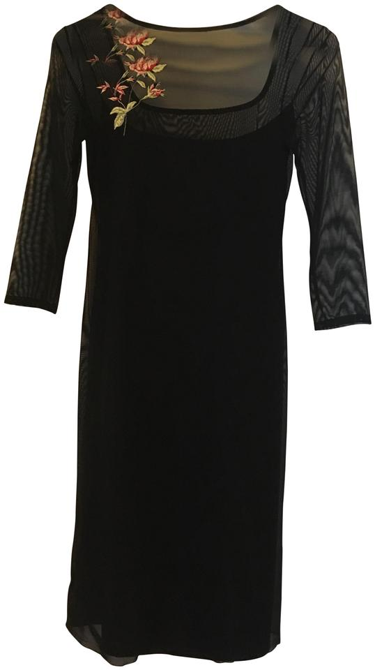 Black Maxi Dress By Necessary Objects Tail Bridal Lbd Modern Party