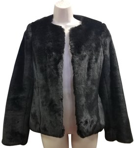 Anne Klein Faux Fur Coat