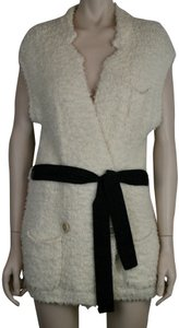 Brunello Cucinelli Cotton Stretchy Sleeveless Belted Sweater Tunic