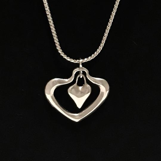 Robert Lee Morris Signed One-of-a-kind Highly Collectible Snake Chain Double Heart Image 3