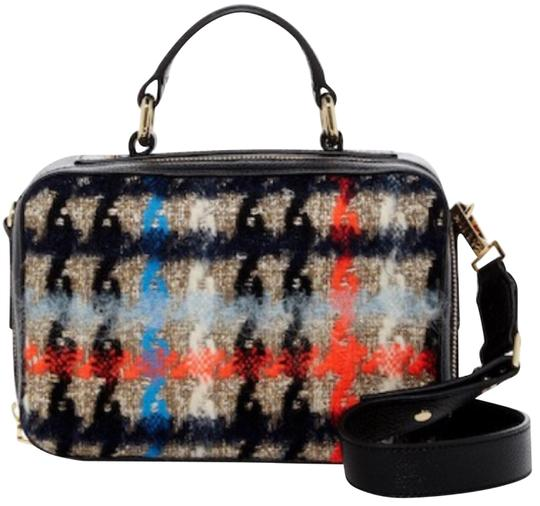 Preload https://img-static.tradesy.com/item/23076662/milly-pied-de-poule-crossbody-multicolor-tweed-and-leather-satchel-0-1-540-540.jpg