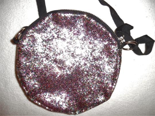 Unbranded Glitter Sparkle Round Circle Prom Baguette Image 3