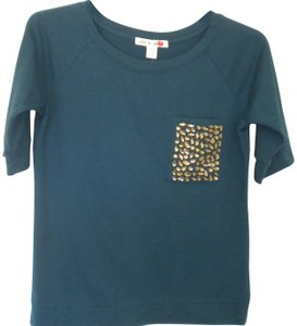 Love by Design T Shirt Atlantic Blue